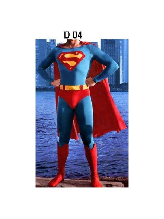 DISFRAZ ADULTO SUPERHEROE D 0904