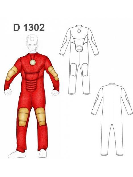 DISFRAZ SUPER HEROE 1302