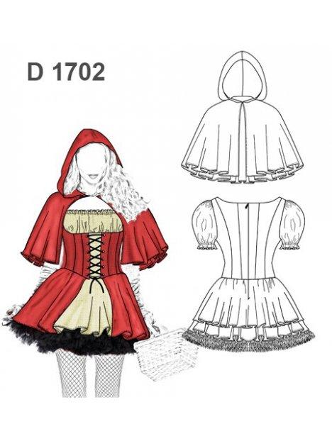 DISFRAZ NIÑA CUENTO 1702