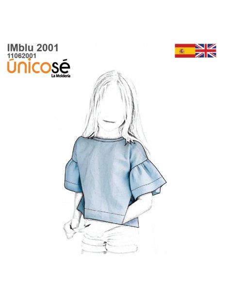BLUSA CERRADA NIÑA 2001