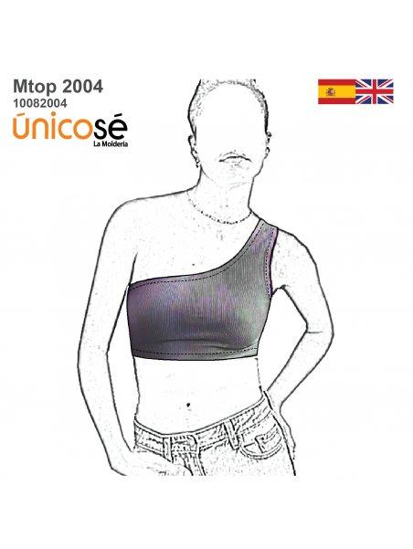 TOP ASIMETRICO MUJER 2004