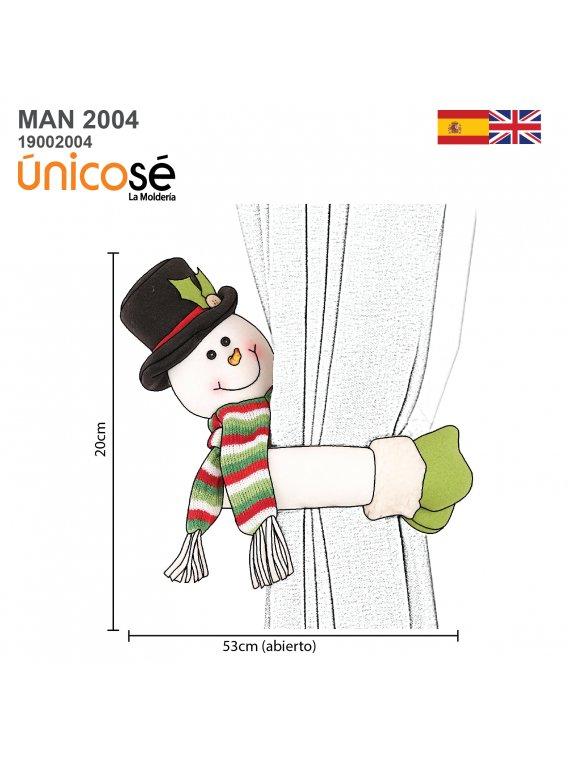 MUÑECO NAVIDAD MAN 2004