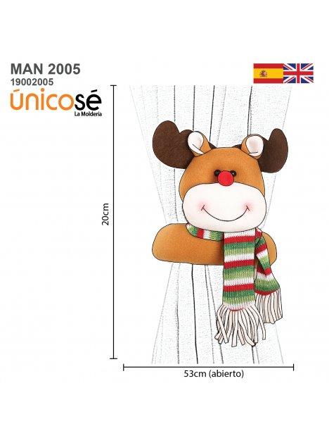 MUÑECO NAVIDAD MAN 2005