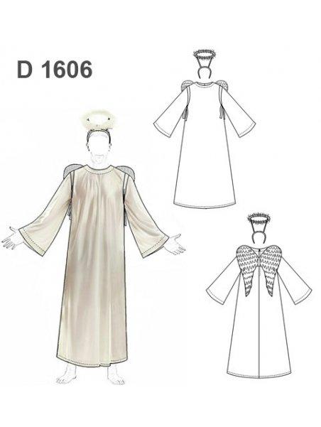 DISFRAZ ANGEL 1606
