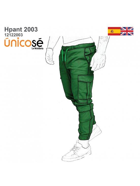 PANTALON JOGGER CARGO HOMBRE 2003