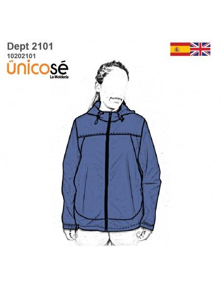 DEPORTE CORTAVIENTO UNISEX 2101