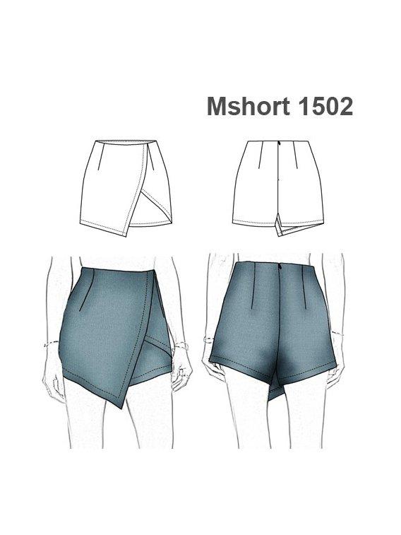 SHORT FALDA MUJER 1502