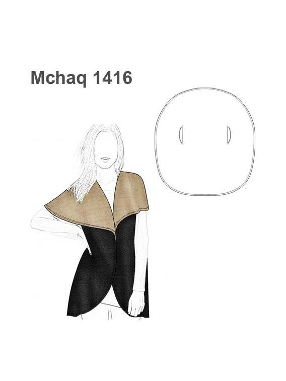 CHAQUETA TAPADO CIRCULAR MUJER 1416