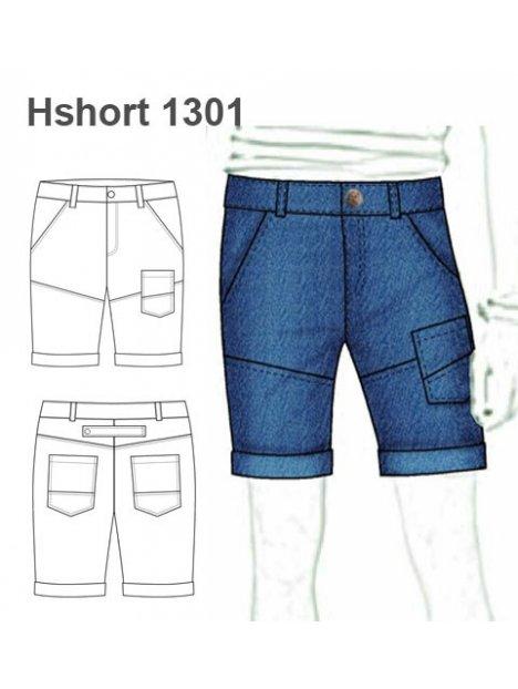 SHORT BERMUDA HOMBRE 1301