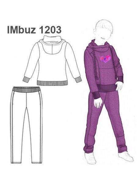 BUZO BASICO NIÑA 1203