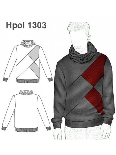 POLERON CORTES HOMBRE 1303