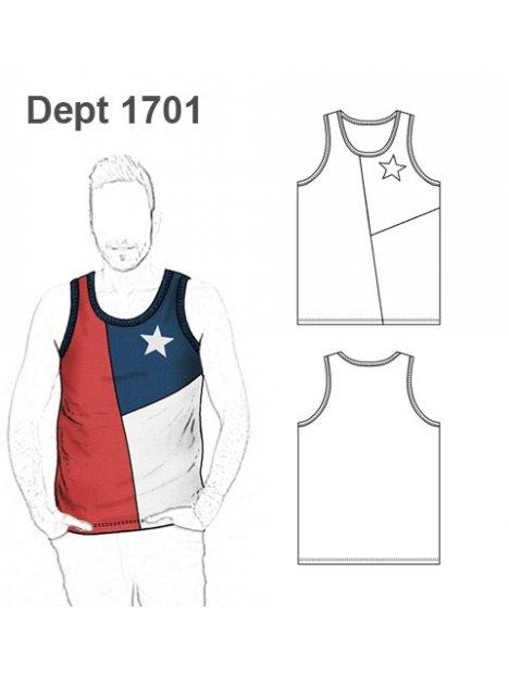 DEPORTE CAMISETA CHILE 1701