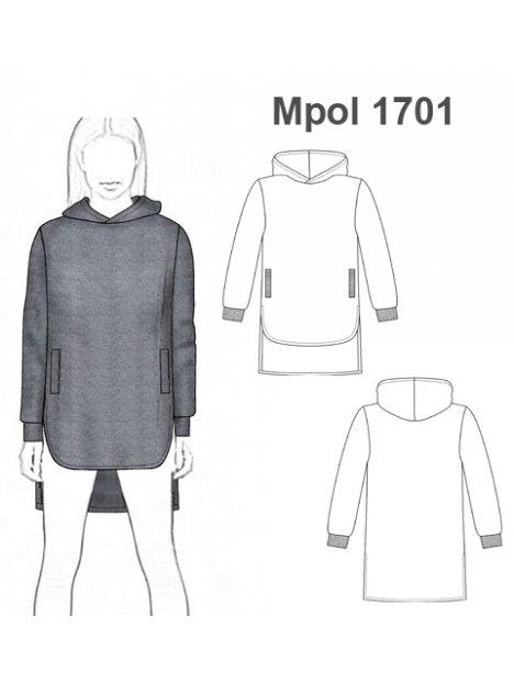 POLERON OVERSIZE MUJER 1701