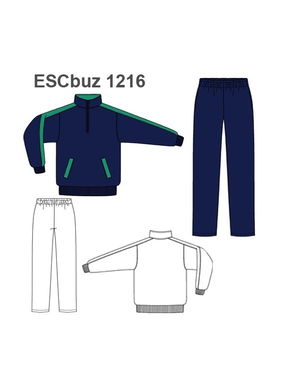 BUZO ESCOLAR 1216