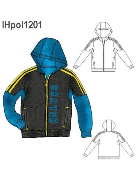 POLERON CORTES NIÑO 1201